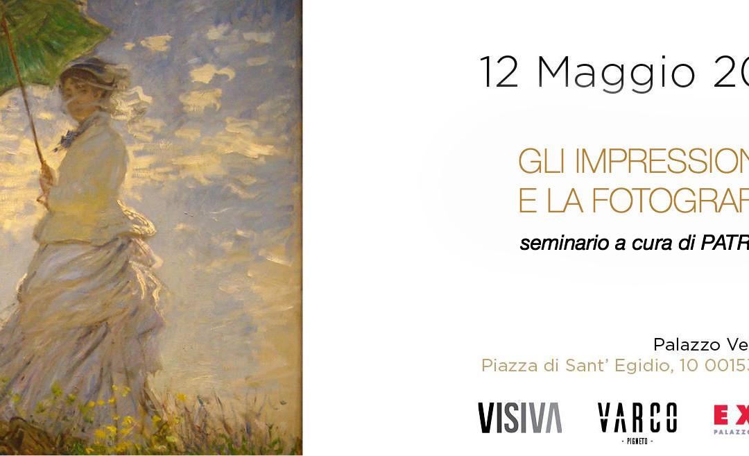 Gli impressionisti e la fotografia master class di Patrizia Genovesi